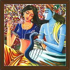 Radha Krishna Paintings (RK-2230)