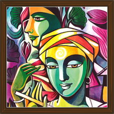 Radha Krishna Paintings (RK-2231)