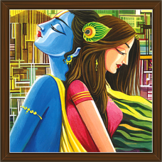 Radha Krishna Paintings (RK-2234)