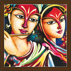Radha Krishna Paintings (RK-2236)