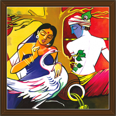 Radha Krishna Paintings (RK-2237)