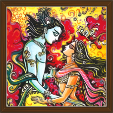 Radha Krishna Paintings (RK-2238)