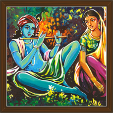 Radha Krishna Paintings (RK-2241)
