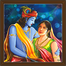 Radha Krishna Paintings (RK-2244)