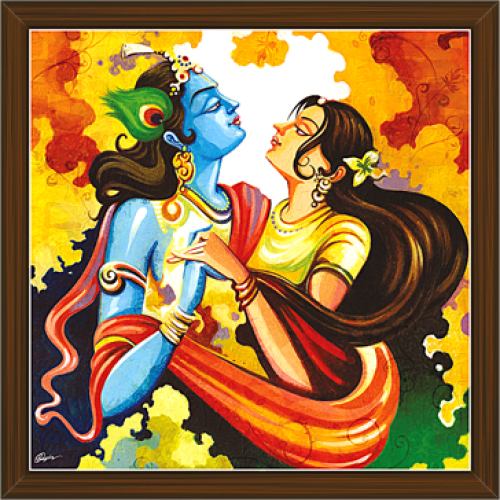 Radha Krishna Paintings RK 2247