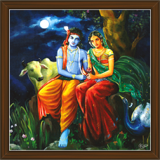 Radha Krishna Paintings (RK-2248)