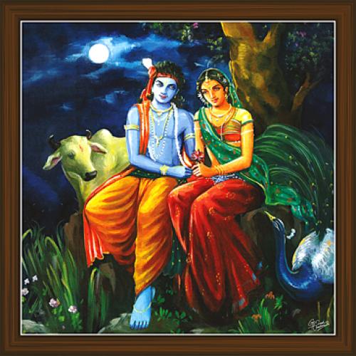 Radha Krishna Paintings RK 2248