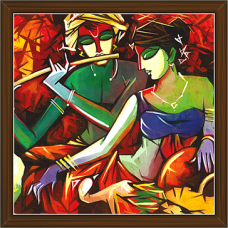 Radha Krishna Paintings (RK-2250)