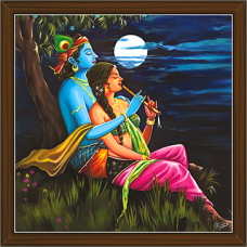 Radha Krishna Paintings (RK-2252)