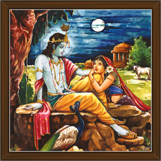 Radha Krishna Paintings (RK-2254)