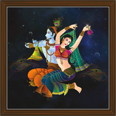 Radha Krishna Paintings (RK-2255)