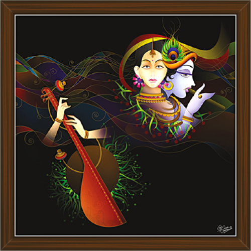 Radha Krishna Paintings RK 2265