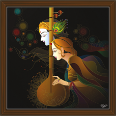 Radha Krishna Paintings (RK-2268)