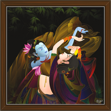 Radha Krishna Paintings (RK-2269)