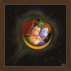 Radha Krishna Paintings (RK-2270)