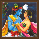 Radha Krishna Paintings (RK-2274)