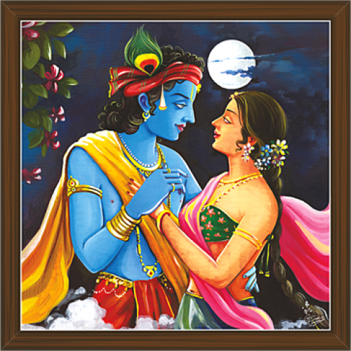Radha Krishna Paintings RK 2274