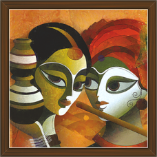 Radha Krishna Paintings (RK-2275)