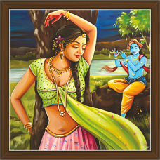 Radha Krishna Paintings (RK-2276)