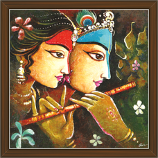 Radha Krishna Paintings (RK-2277)
