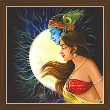 Radha Krishna Paintings (RK-2281)