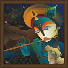Radha Krishna Paintings (RK-2283)