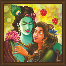 Radha Krishna Paintings (RK-2284)