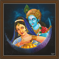 Radha Krishna Paintings (RK-2285)