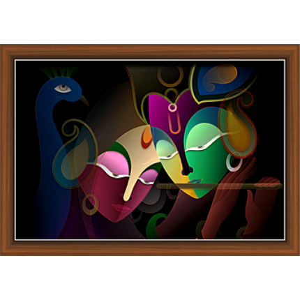 Radha Krishna Paintings (RK-9275)