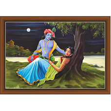 Radha Krishna Paintings (RK-9325)