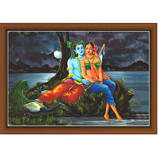 Radha Krishna Paintings (RK-9328)