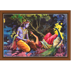 Radha Krishna Paintings (RK-9330)