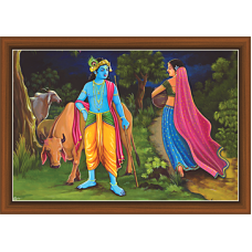 Radha Krishna Paintings (RK-9332)