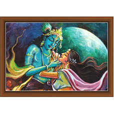 Radha Krishna Paintings (RK-9333)