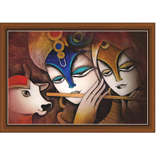 Radha Krishna Paintings (RK-9339)