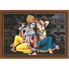 Radha Krishna Paintings (RK-9340)