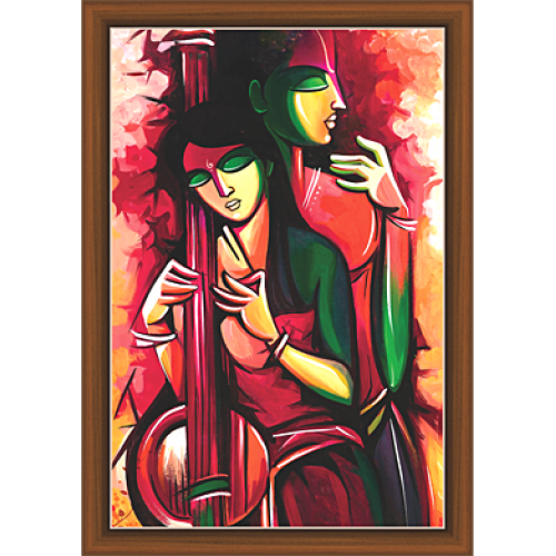 Radha Krishna Paintings RK 9091