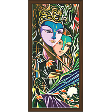 Radha Krishna Paintings (RK-2074)