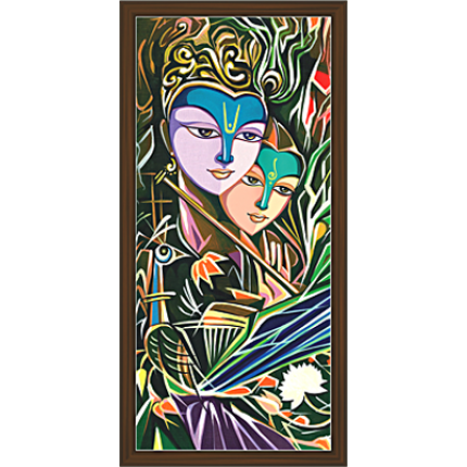 Radha Krishna Paintings (RK-2058)