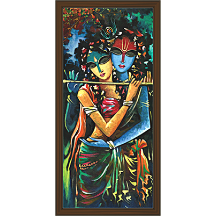 Radha Krishna Paintings (RK-2066)