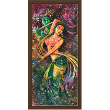 Radha Krishna Paintings (RK-2084)