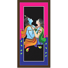 Radha Krishna Paintings (RK-2086)