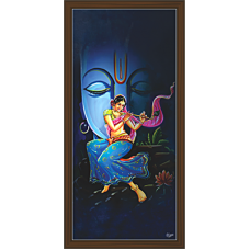 Radha Krishna Paintings (RK-2090)