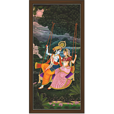 Radha Krishna Paintings (RK-2095)