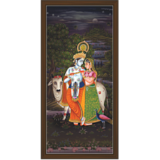 Radha Krishna Paintings (RK-2096)