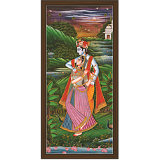 Radha Krishna Paintings (RK-2098)