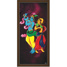 Radha Krishna Paintings (RK-2099)