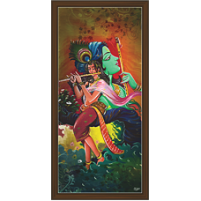 Radha Krishna Paintings (RK-2105)
