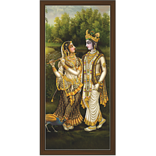 Radha Krishna Paintings (RK-2107)