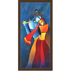 Radha Krishna Paintings (RK-2109)